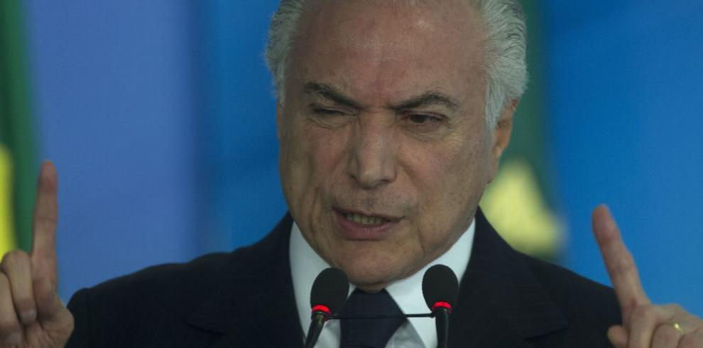 Presidente Temer luce sereno antes de posible denuncia de la Fiscalía