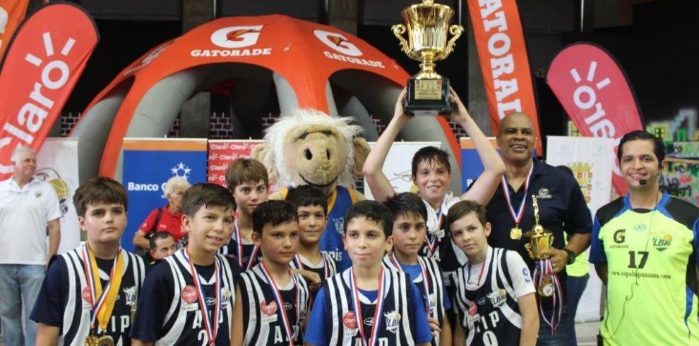 AIP y Enrico Fermi, campeones del Baloncesto Club Kiwanis