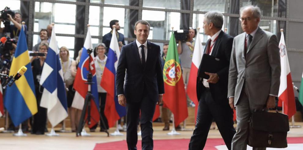 Presentan en París un pacto mundial por el medioambiente con apoyo de Macron