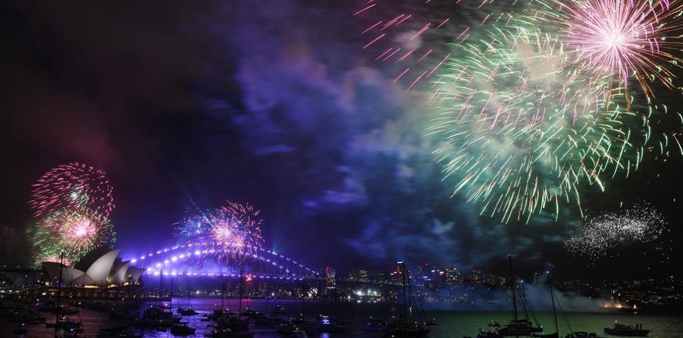 Los primeros países que recibieron el Año Nuevo 2018