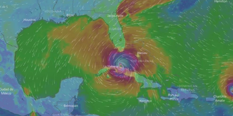 Comienza el toque de queda en Miami ante inminente llegada de Irma a Florida