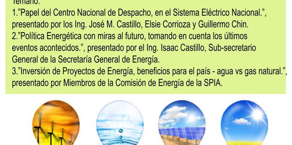 Foro de la SPIA analizará situación del mercado eléctrico en Panamá