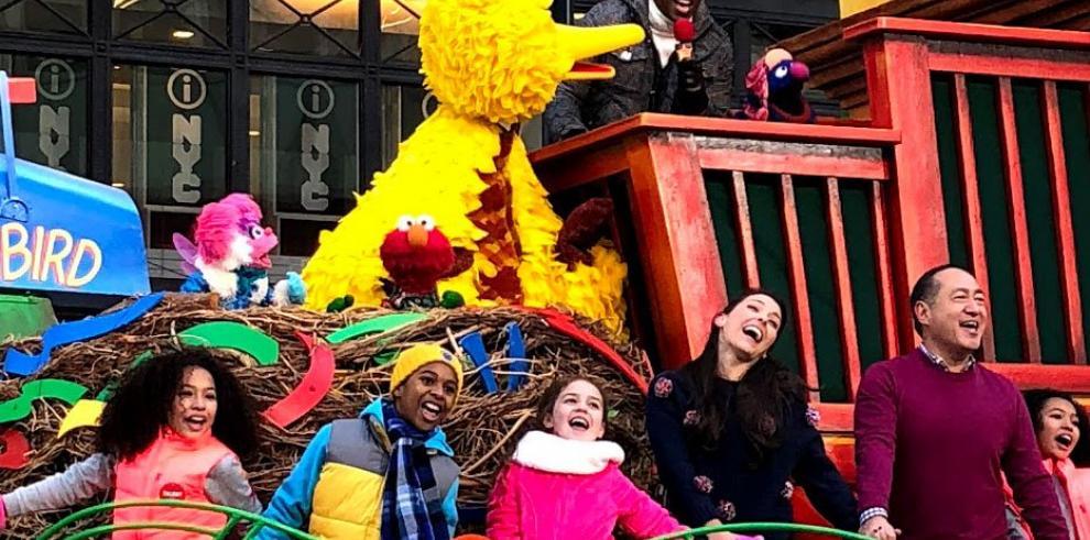 Desfile del Día de Acción de Gracia en Nueva York