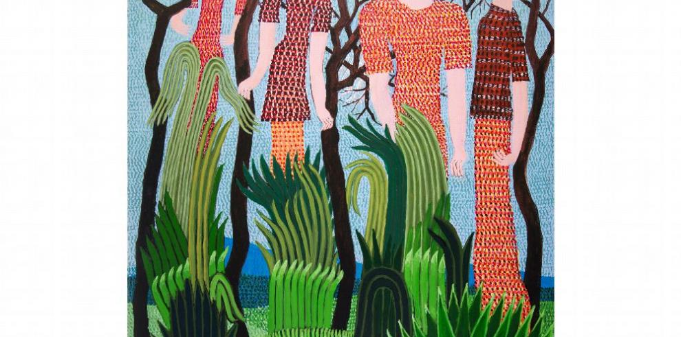 Los paisajes verticales de Guillermo Trujillo