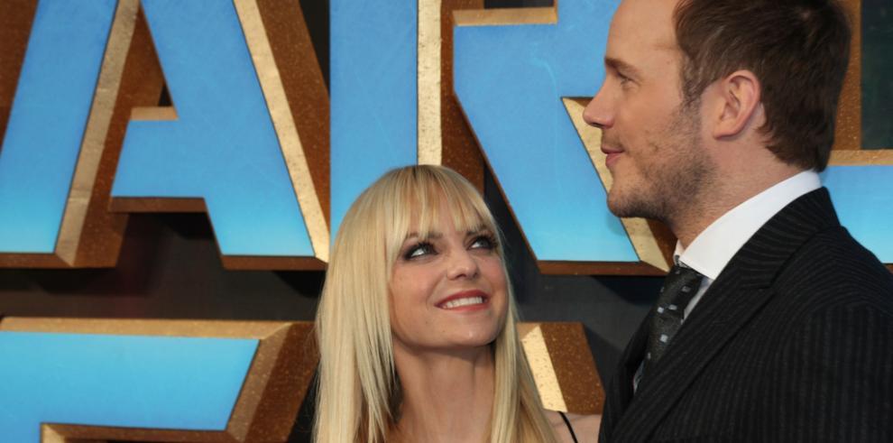 Los actores Chris Pratt y Anna Faris se separan tras ocho años de matrimonio