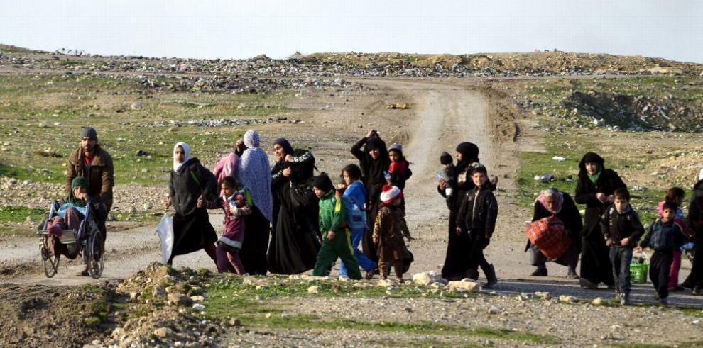 Irak: emigrar o morir entre las bombas