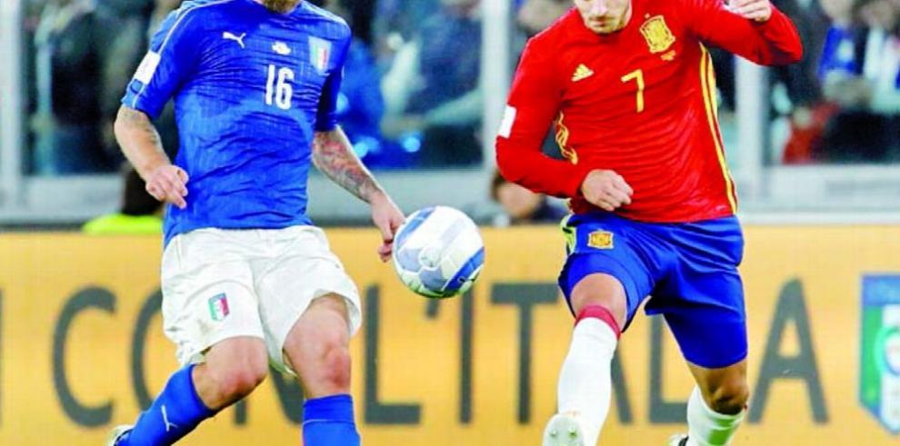 España e Italia se verán las caras en el estadio Bernabéu