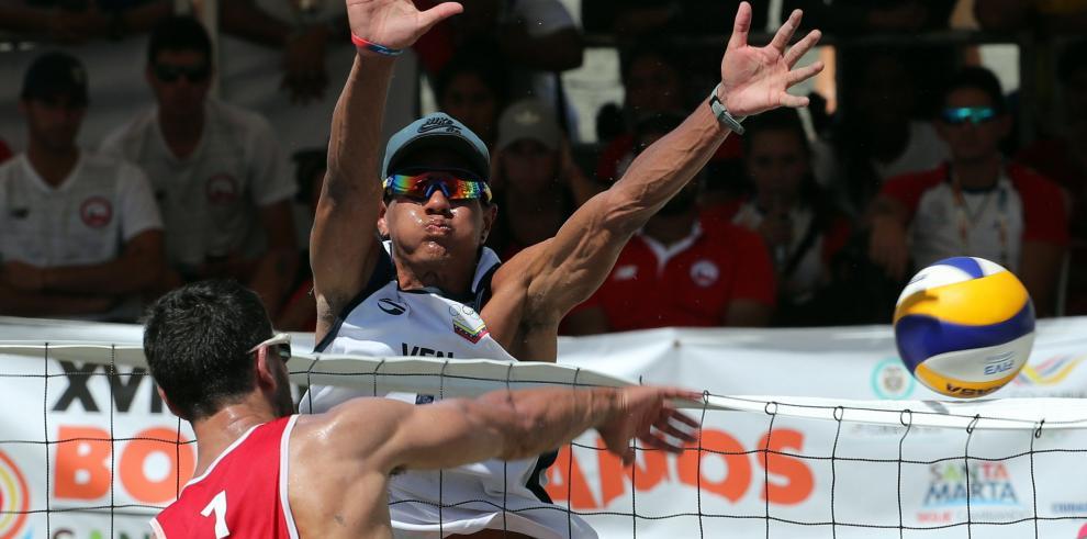 Paraguay y Venezuela ganan oro en voleibol playa en los Juegos Bolivarianos