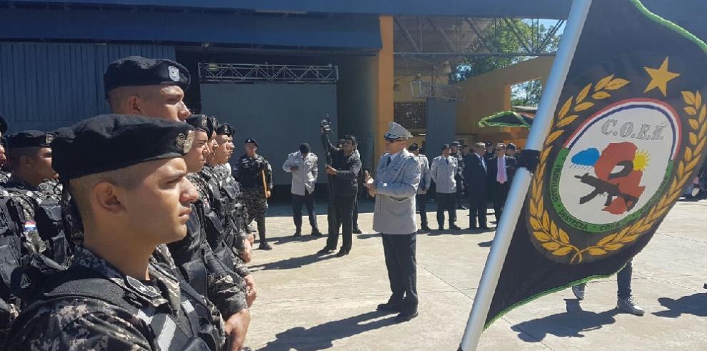 Linces gradúan a 55 policías paraguayos