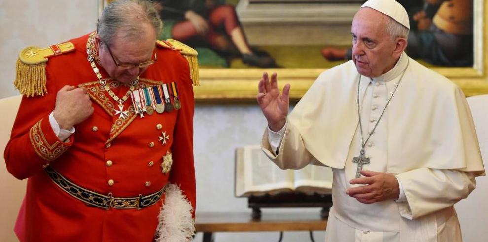 Preservativos causaron roces entre papa Francisco y Orden de Malta