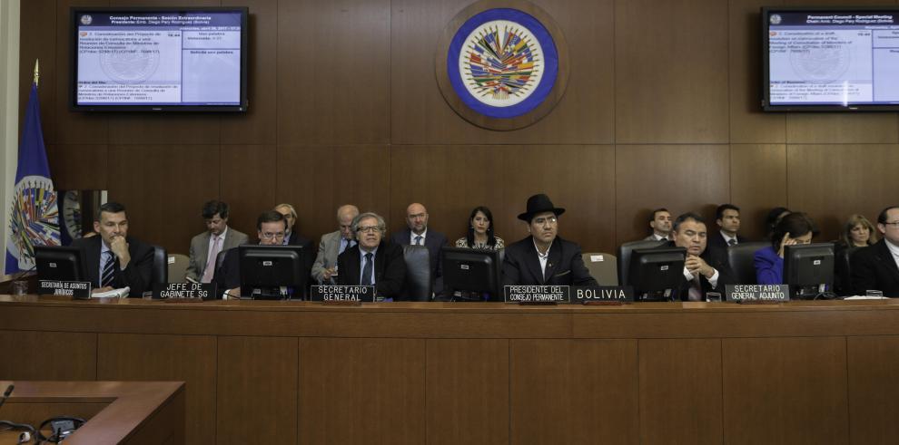 Cómo puede Venezuela abandonar la OEA