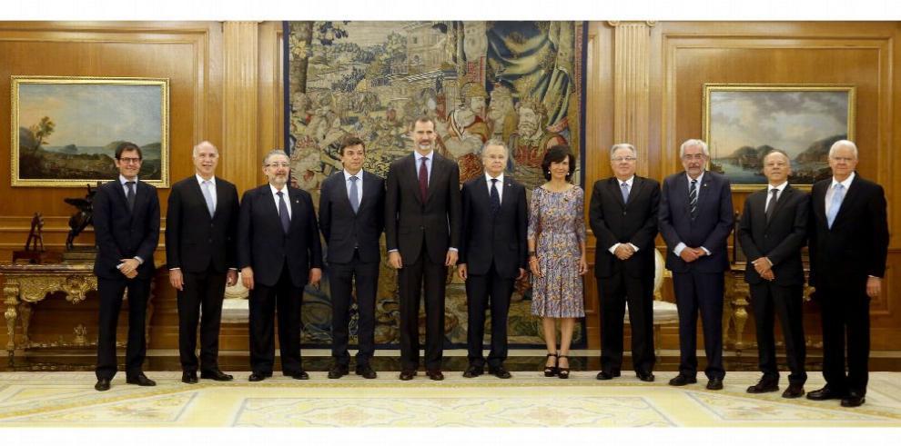 Felipe VI se reúne con los rectores de varias universidades iberoamericanas