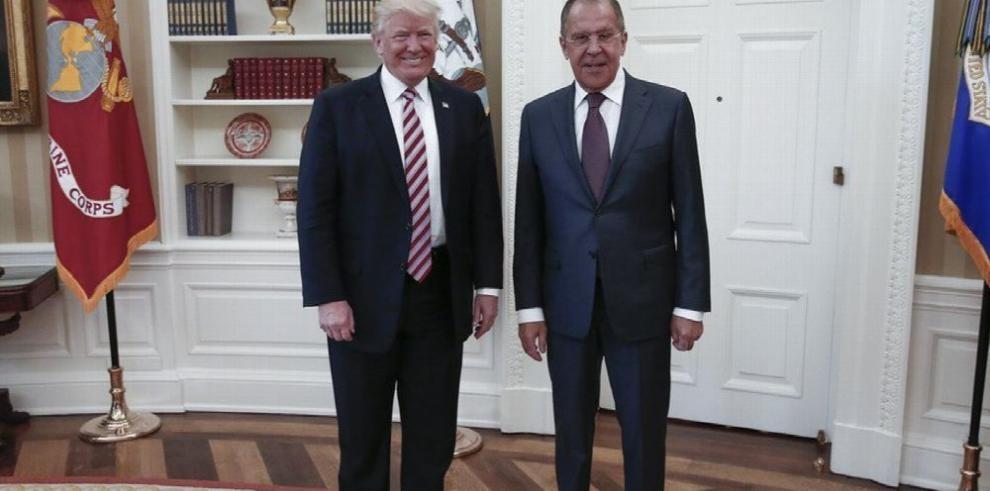 Lavrov niega haber recibido información 'secreta' de Trump