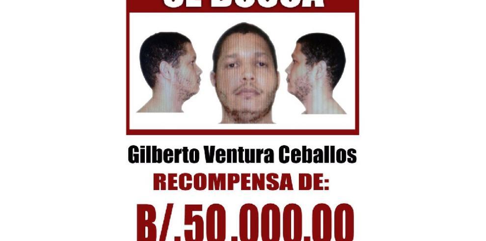 Ofrecen recompensa de $50 mil por el prófugo Ventura Ceballos