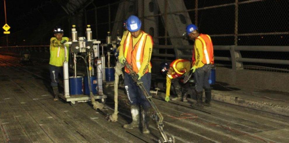 Reanudan trabajos en el Puente de Las Américas