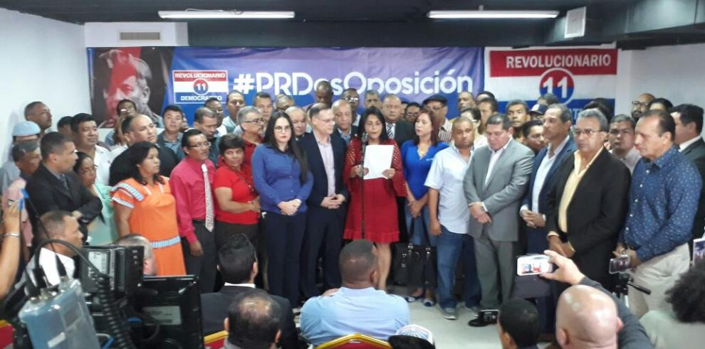 PRD rechazará las designaciones de las magistradas de la CSJ