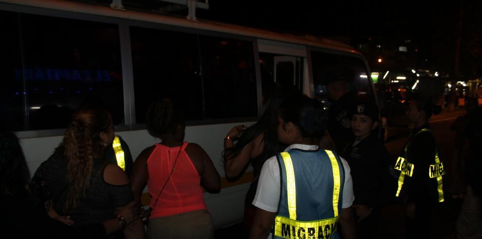 Más de 1,500 extranjeros retenidos en operativos migratorios