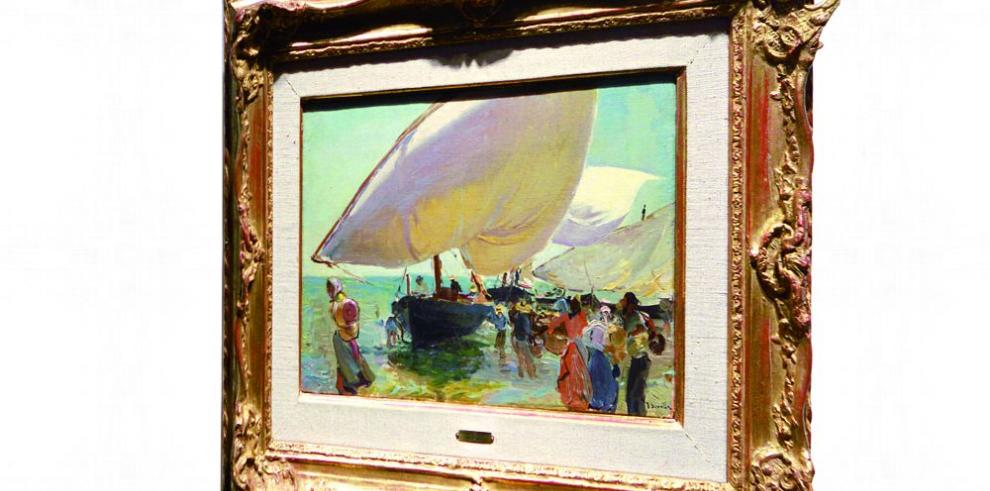 'Llegada de las barcas', de Sorolla, a subasta