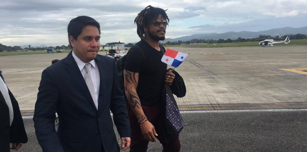 'Me siento orgulloso de ser panameño' dice Román Torres
