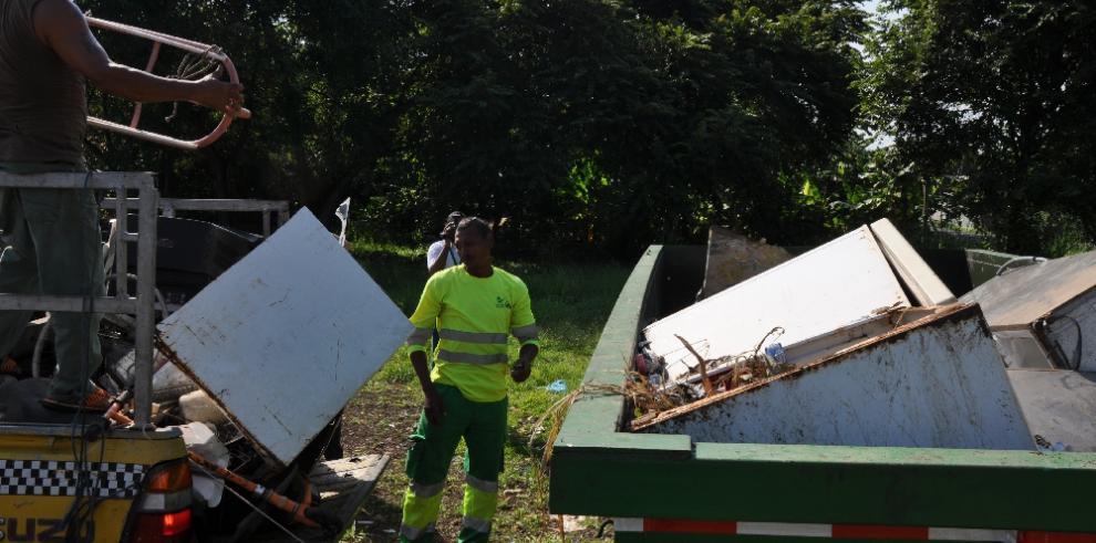 AAUD recogió 82 toneladas en operativos de enseres en Juan Díaz