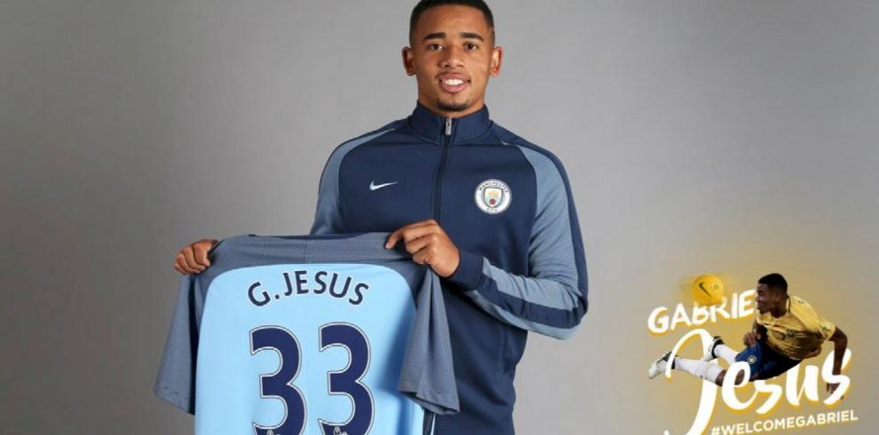 Gabriel Jesús se une al Manchester City