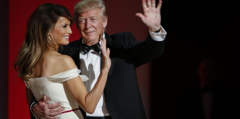 Trump y Melania eligen