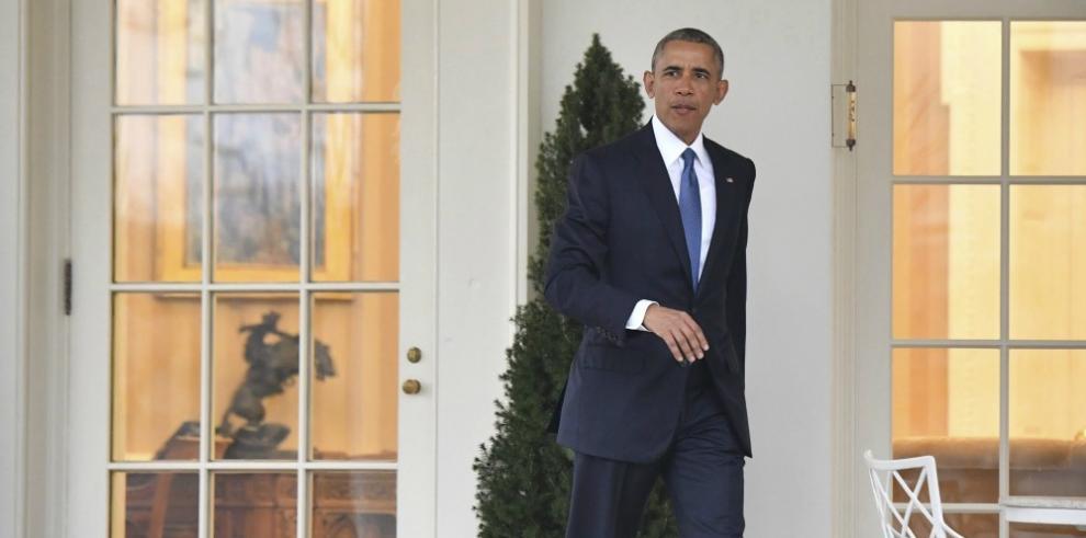 Los Obama dejan Washington por última vez en el helicóptero presidencial