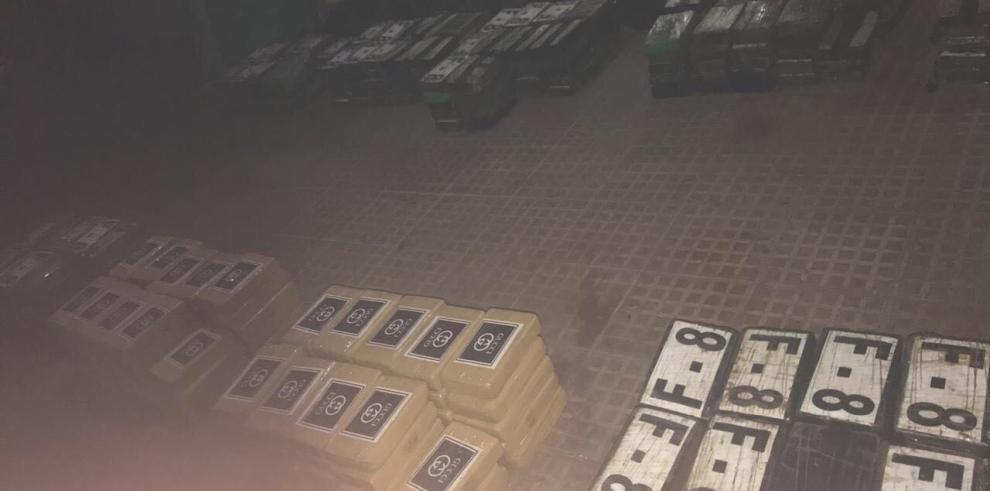 En Colóndecomisan 427 paquetes de sustancia ilícita