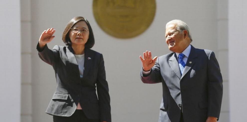 El Salvador y Taiwán acuerdan cooperación