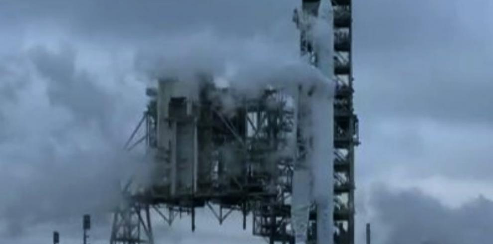 SpaceX lanza misión hacia la Estación Espacial Internacional