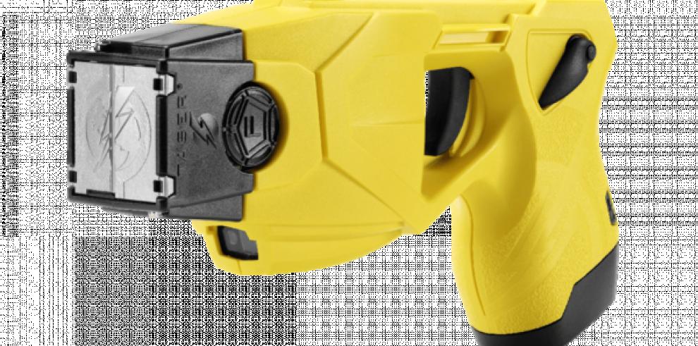 Conozca la pistola taser, una nueva medida de control de la DNOT