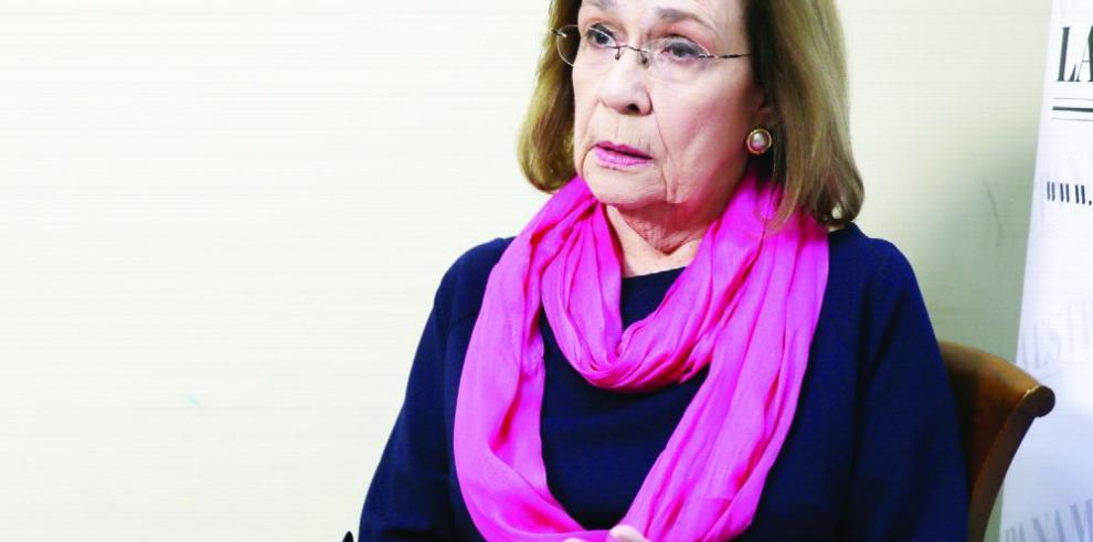 'Sueño con un país donde nos respetemos unos a otros',Teresita Yániz de Arias