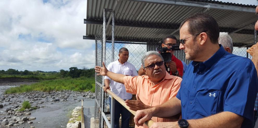 Humbert inspeccionó primera obra realizada por Odebrecht en Panamá