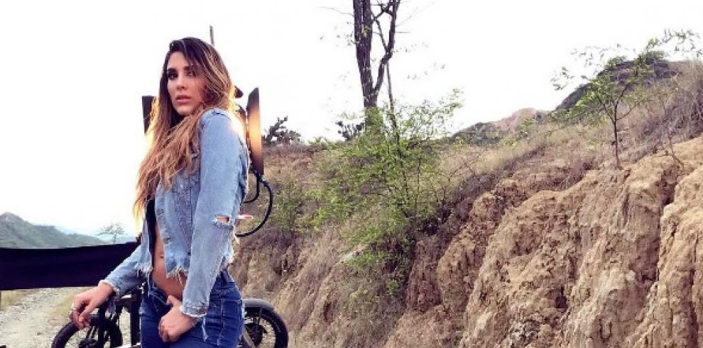 Exesposa de James Rodríguez se alista para desfilar jeans en Colombiamoda