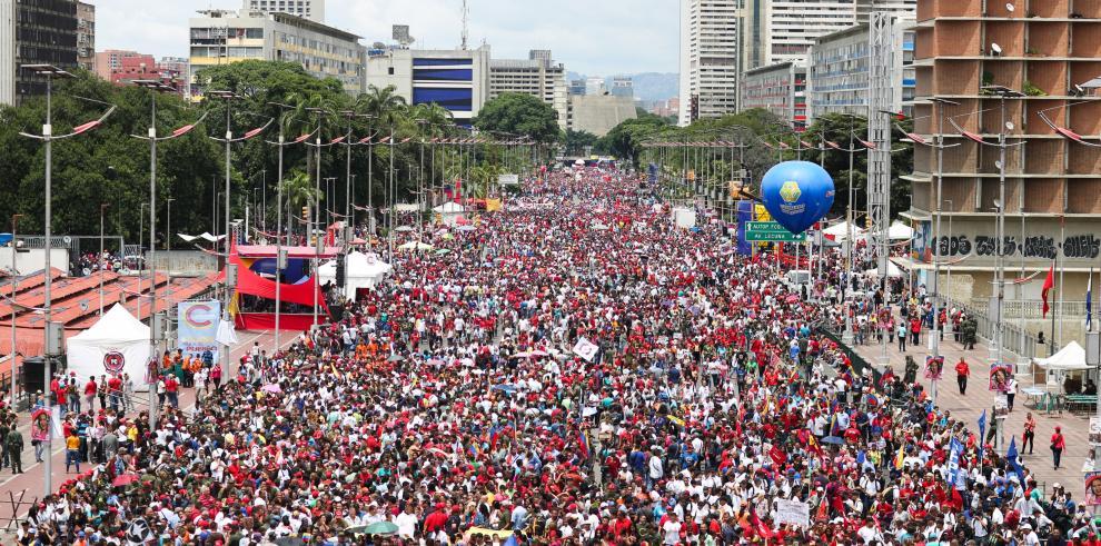 Chavismo cierra campaña electoral y llama a masiva votación en Constituyente