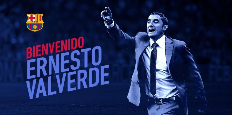 Valverde nuevo entrenador del Barcelona
