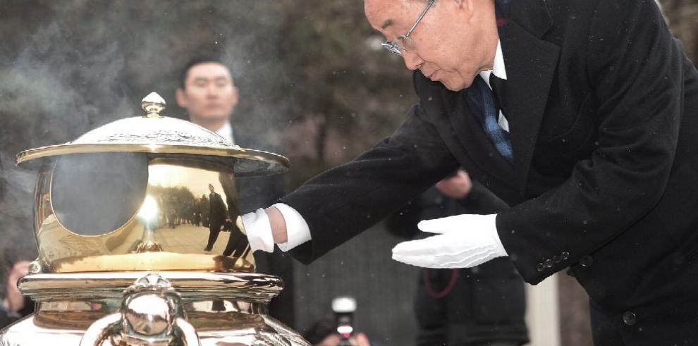 Ban Ki-moon, de 'campaña' para la presidencia del país