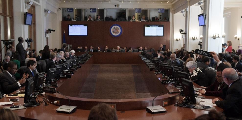 OEA convoca reunión de cancilleres sobre Venezuela para el lunes 19
