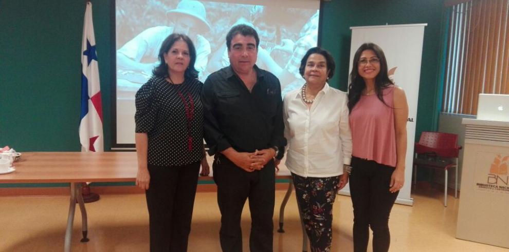 Rescatado video inédito del trabajo de Reina Torres de Araúz
