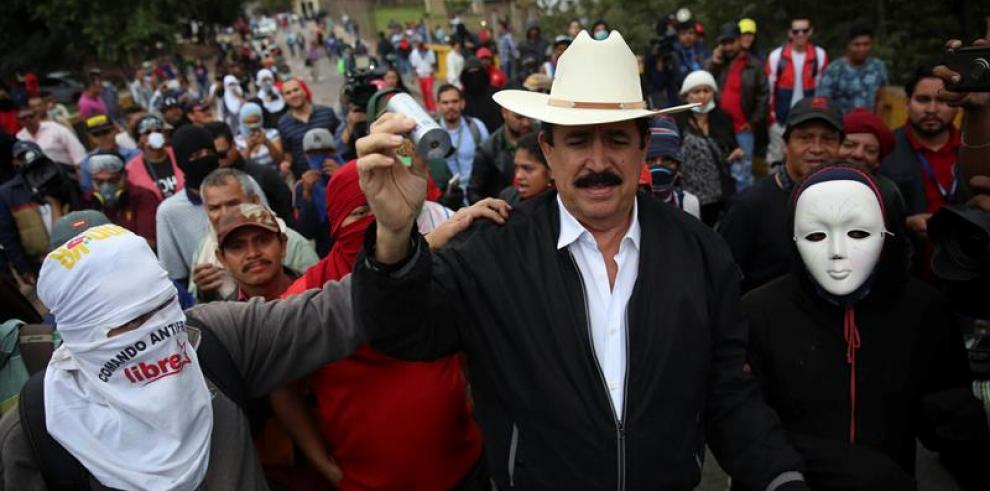 Zelaya no cree que petición de OEA de nuevos comicios en Honduras sea honesta