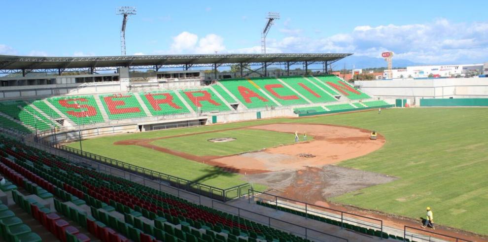 El estadio Kenny Serracín será inaugurado el 23 de marzo