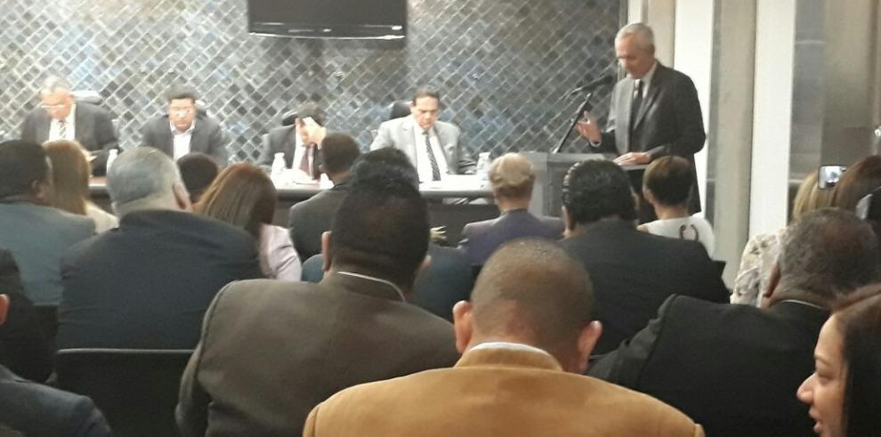 Asamblea inicia consulta para ratificar o rechazar a magistradas