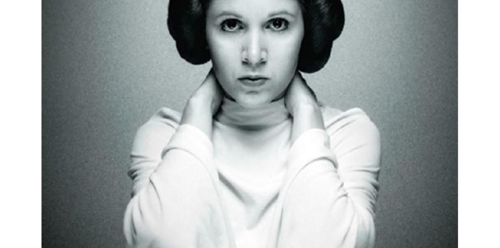 A un año del adiós a Carrie Fisher, la princesa Leia