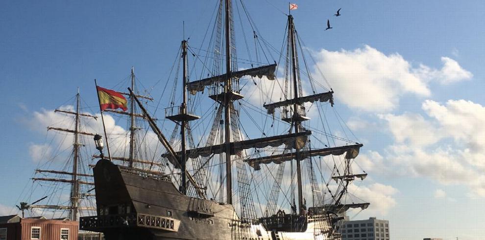 El Galeón, la 'embajada flotante' española en EE.UU.