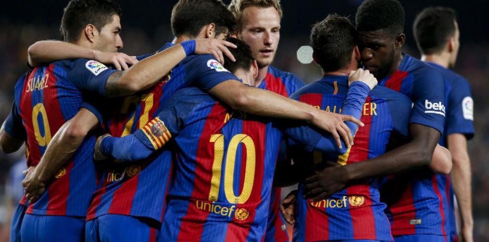 Real y Barça van con miradas diferentes
