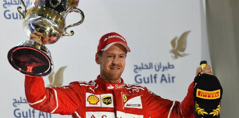 Vettel impone condiciones y se mantiene como líder