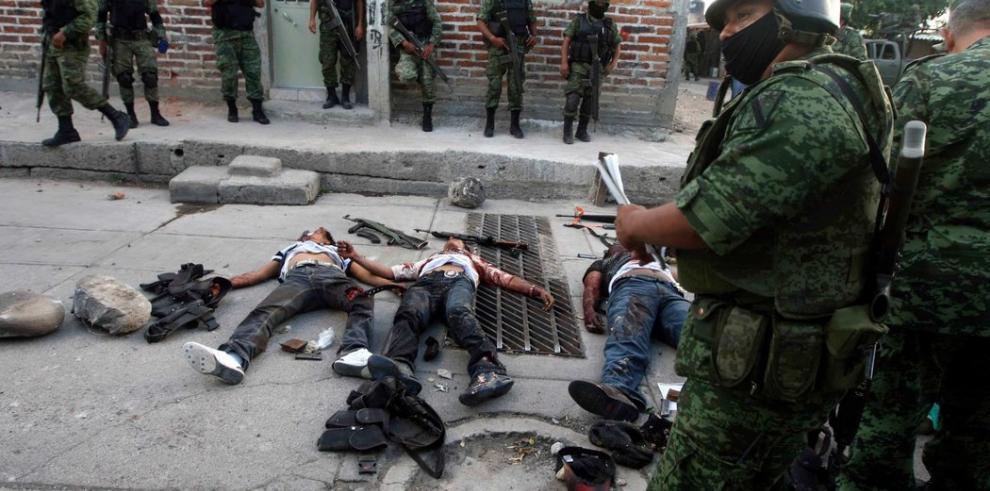Marina mexicana abate a dos capos en Tamaulipas