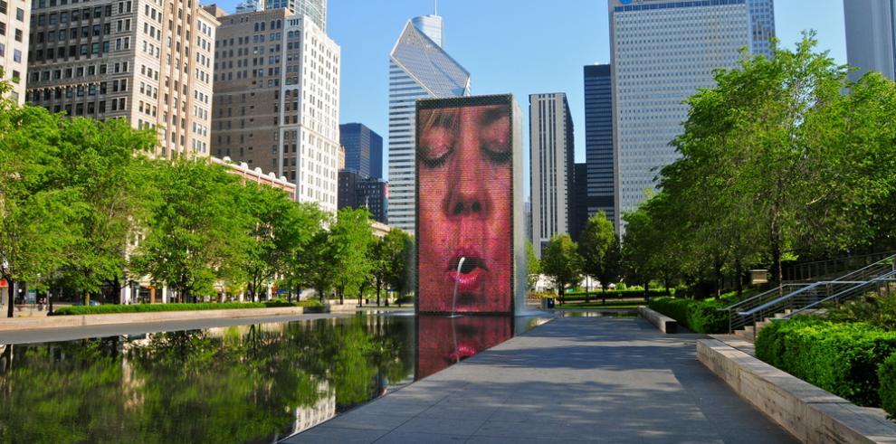 Chicago remodela la emblemática fuente Crown del escultor Jaume Plensa