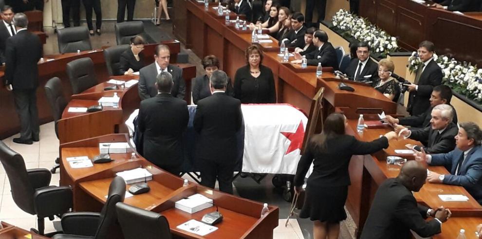 Último adiós a un gran político, Jorge Rubén Rosas