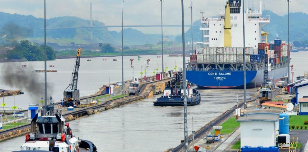 El Canal alcanza nuevo récord mensual con 36,1 millones de toneladas